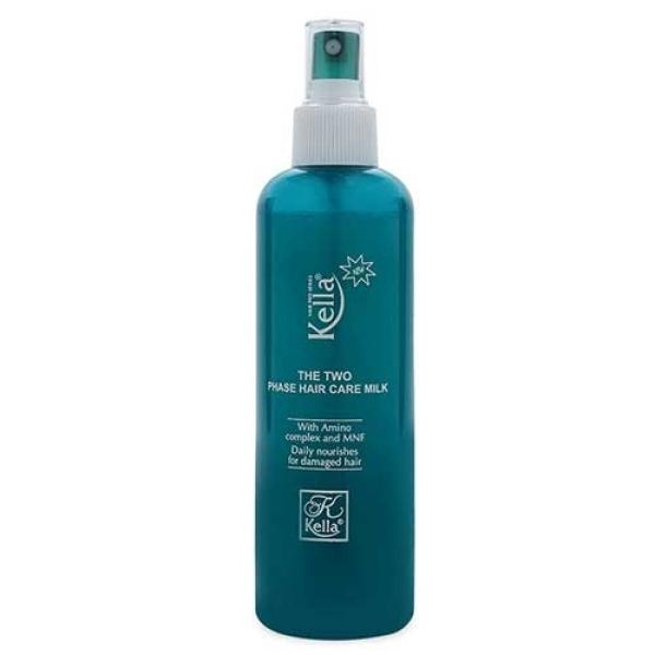 Xịt dưỡng 2 lớp cao cấp chống nhiệt cao Kella The Two Phase Hair Care Milk 250ml giá rẻ