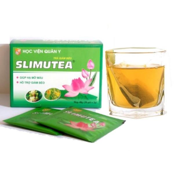Trà giảm cân Slimutea hộp 20 gói - HVQY cao cấp