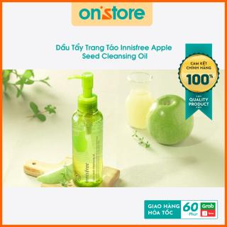 Dầu Tẩy Trang Táo Innisfree Apple Seed Cleansing Oil, Nước Tẩy Trang Sạch Dầu - 150ml, Hàn Quốc, Dầu Tẩy Trang Giá Rẻ thumbnail