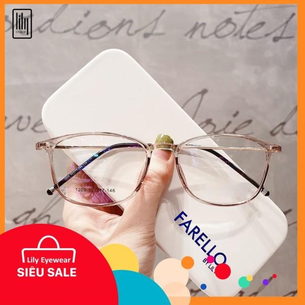 Giá bán [Lấy mã giảm thêm 30%]Kính Cận Thời Trang Nam Nữ  BBR 1209- Gọng Kính Cận Đẹp-Gọng Kính Cận Unisex-Gọng Kính Thời Trang-Lily Eyewear
