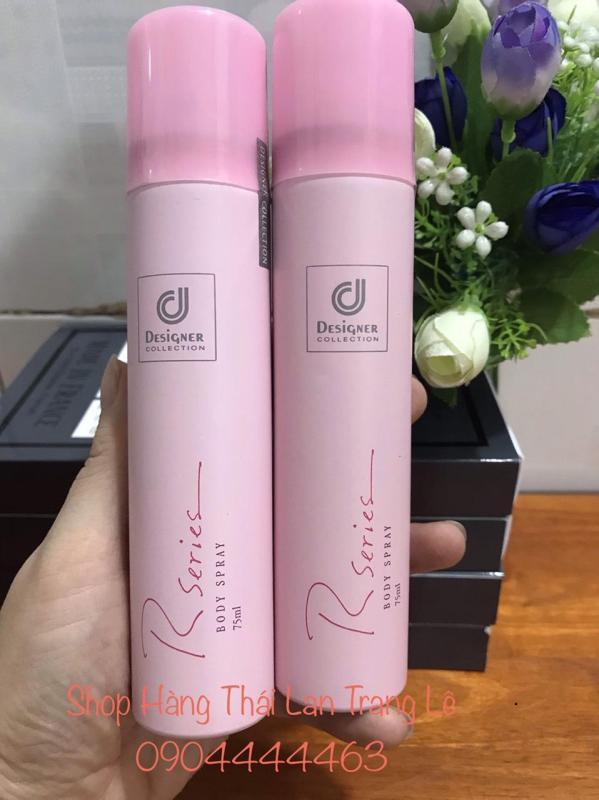 Xịt thơm body Rseries Body Spray 75ml nhập khẩu