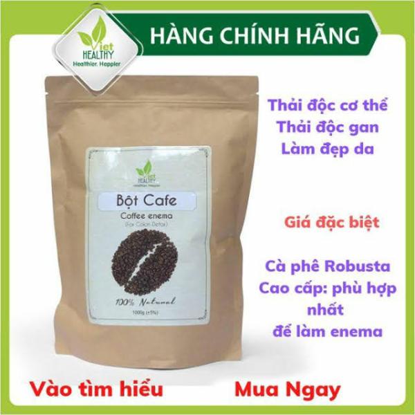Cà phê hữu cơ thải độc đại tràng Enema (túi 1kg) giá rẻ