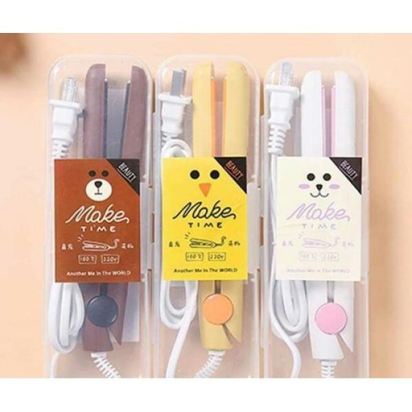 máy là,ép tóc mini Hàn Quốc - May Làm Tóc Tạo Kiểu Mini Siêu Cute giá rẻ