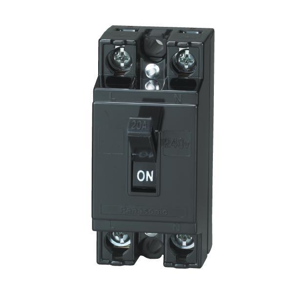 Bảng giá Bộ ngắt mạch an toàn Panasonic (CB Cóc) 10A, 15A, 20A, 30A, 40A