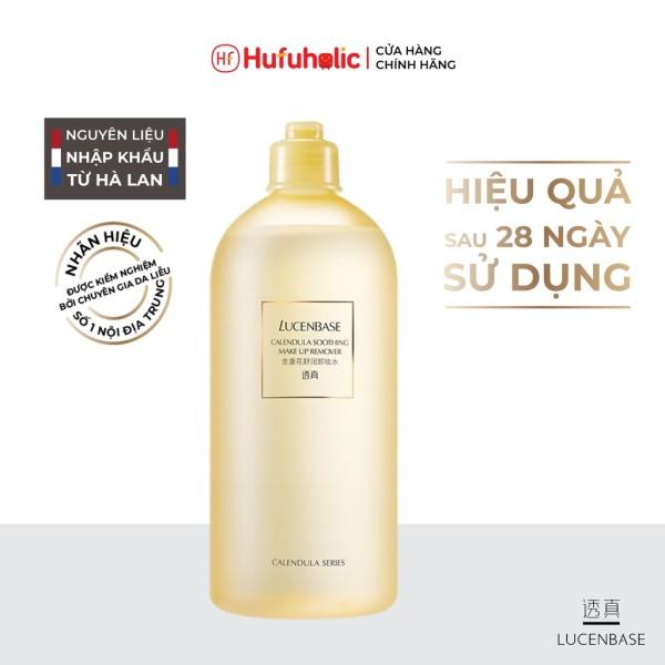 LUCENBASE - Nước tẩy trang hoa cúc Calendula Soothing Make Up Remover