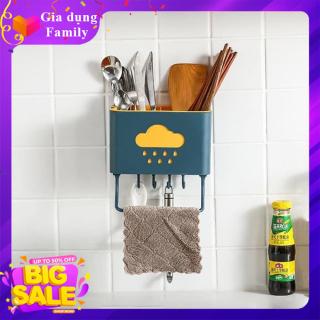 Kệ nhà bếp, nhà tắm siêu tiện dụng, gọn gàng, sạch sẽ không cần khoan thumbnail