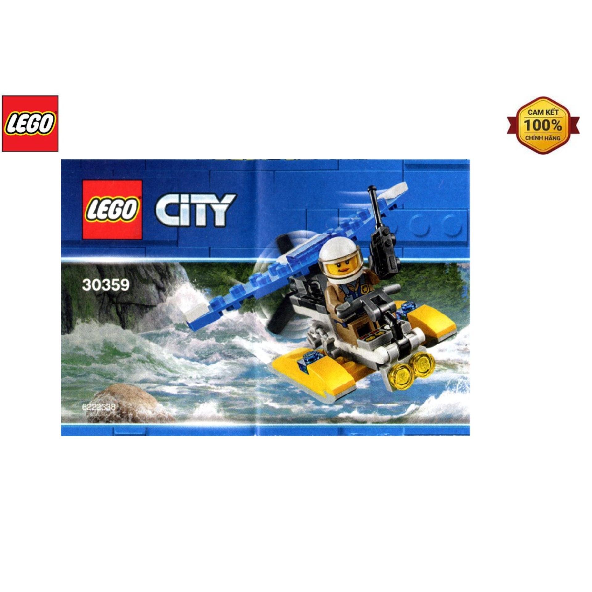 Bộ Lắp Ráp LEGO City Máy Bay Cảnh Sát Biển 30359 Đang Có Giảm Giá
