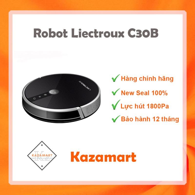 Robot Hút Bụi Lau Nhà Liectroux C30B Thương Hiệu Đức ✔️ Giá Tốt ✔️ Hàng Chính Hãng ✔️ New Seal 100% ✔️ Bảo Hành 12 Tháng