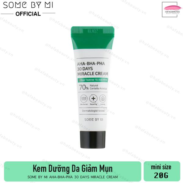 Kem Dưỡng Da Làm Giảm Mụn Some By Mi AHA-BHA-PHA 30 Days Miracle Cream nhập khẩu