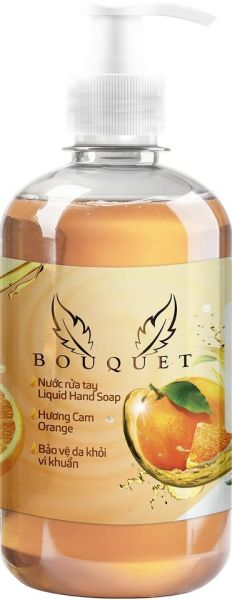 Nước rửa tay Bouquet hương cam 500ml👉Sạch khuẩn mềm da tay giá rẻ
