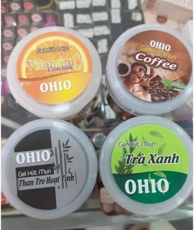 Lột mụn Ohio vitamin c-coffee-than tre và trà xanh