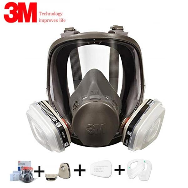 Mặt nạ phòng độc bảo vệ mặt nạ 3M 6800 chống lại khí hữu cơ với 6001 phù hợp hơn - INTL