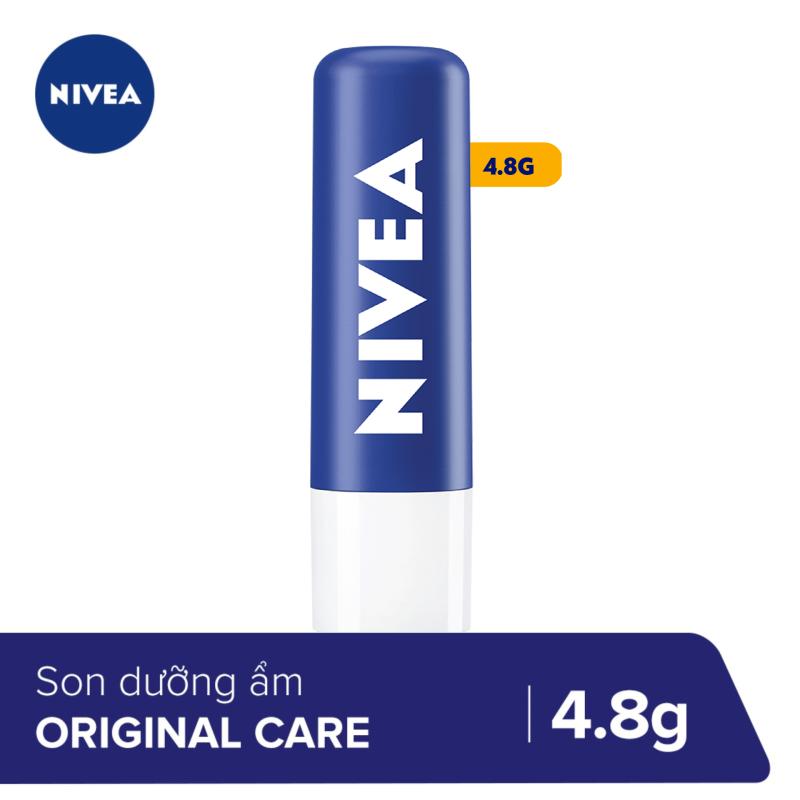 Son dưỡng ẩm chuyên sâu Nivea Original Care (4.8g) - 85061 giá rẻ
