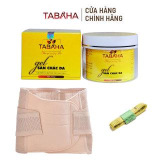 Kem tan mỡ TaBaHa 250g Tặng Gen nịt bụng Định Hình Cao Cấp và thước dây thumbnail