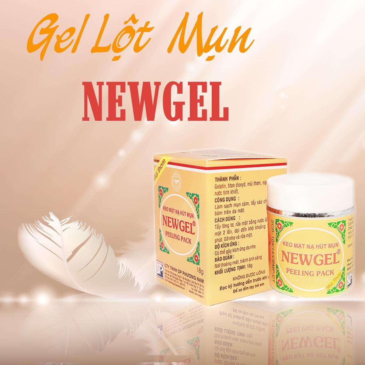 Gel mặt nạ lột mụn NEWGEL - Lột sạch các loại mụn - Mùi thơm dễ chịu chính hãng