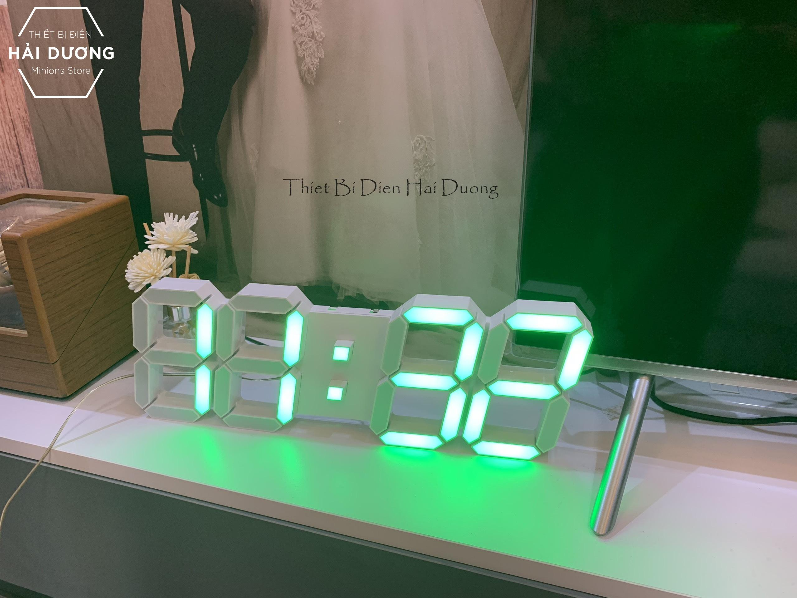 Nơi bán Đồng hồ LED 3D treo tường thông minh TN829 điều khiển từ xa (Size to) - Có Video Hướng Dẫn