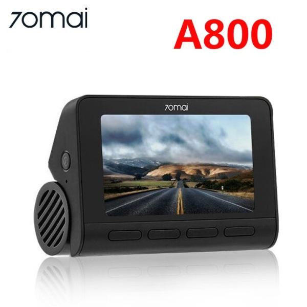 Camera hành trình ô tô, xe hơi cao cấp thương hiệu cao cấp Xiaomi 70mai A800. Tích hợp Wifi, ghi hình độ nét 4K, công nghệ GPS và hỗ trợ lái xe ADAS hiện đại (Bản Quốc tế)