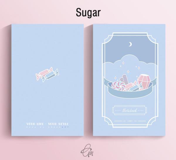 Mua Sổ Tay Mini Angia Art - Sugar 100 Trang (14x9cm)