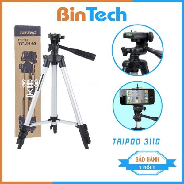Gậy chụp ảnh 3 chân Tripod 3110, gậy tự sướng 3 chân bluetooth,điện thoại BINTECH