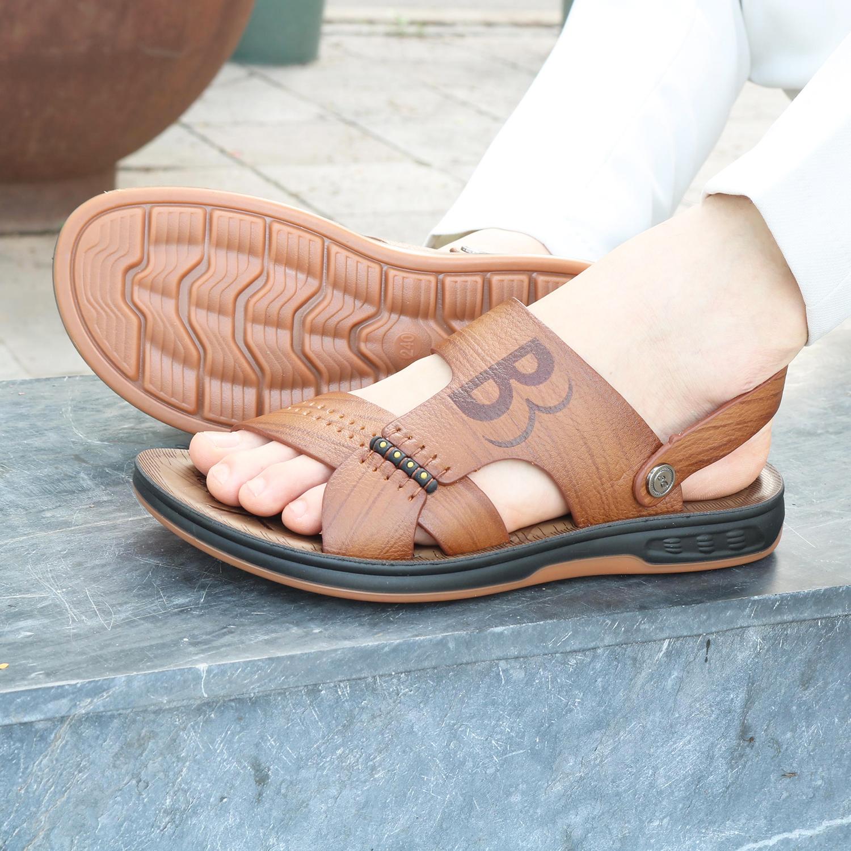 Sandal nam ♥️ HT NEO ♥️ da bò đế kếp cực xịn siêu chắc chắn, siêu siêu bền hàng cao cấp cực đẹp ✅Thương hiệu giày da uy tín hàng đầu Hà Nội ♀ (SD69)
