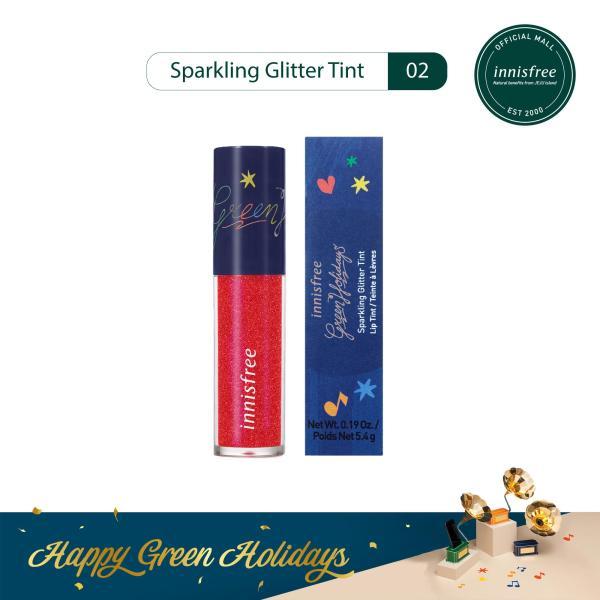 [Phiên bản Green Holidays 2019] Son tint nhũ Green Holidays Sparkling Tint 02 5.4g tốt nhất