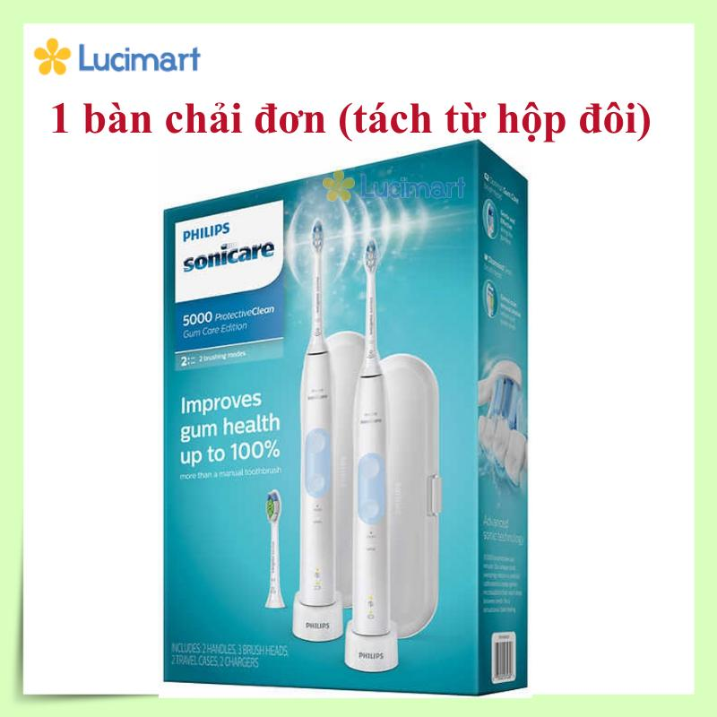 Giá Bàn chải đánh răng điện từ USA Philips Sonicare Protective Clean 5000 Gum Care Edition