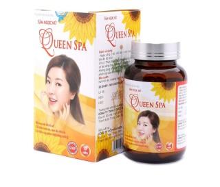 Viên uống đẹp da Sâm Ngọc Nữ QueenSpa bổ sung Collagen giảm nám sạm da - Chai 30 viên thumbnail