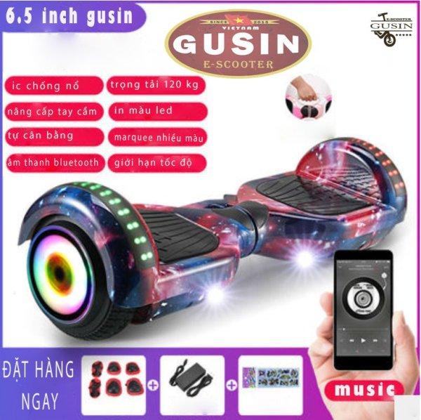 Mua [HCM]xe điện tự cân bằng 6.5inch Màu Luxury chính hãng GuSin / có video test / có loa Bluetooth2.0