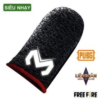 Bao tay chơi game - găng tay chơi game Sợi Carbon cao cấp cảm ứng bao ngón tay chống mồ hôi chống trượt thumbnail