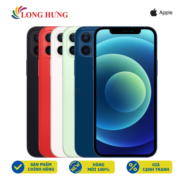 Điện thoại Apple iPhone 12 256GB (VN/A) - Hàng chính hãng - Màn hình 6.1inch Super Retina XDR, Camera kép, Pin 2815mAh hỗ trợ sạc nhanh