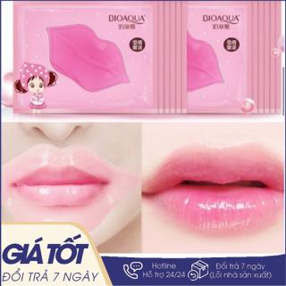Mặt nạ dưỡng môi, giảm thâm và giúp căng mọng môi BIOAQUA - Mặt Nạ Môi Bioaqua, Dưỡng Ẩm Và Giảm Thâm Hiệu Quả thumbnail
