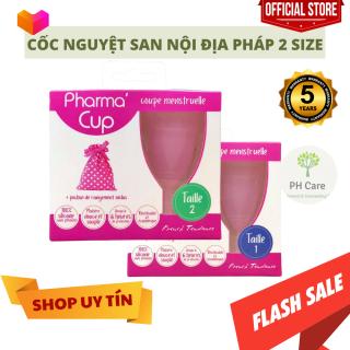 Cốc nguyệt san Pharma Cup Coupe Menstruelle xách tay của Pháp thumbnail
