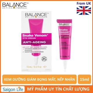 Kem Dươ ng Gia m Bo ng Mă t, Nê p Nhăn Balance Active Formula Snake Venom Anti-Ageing Cream 15ml thumbnail