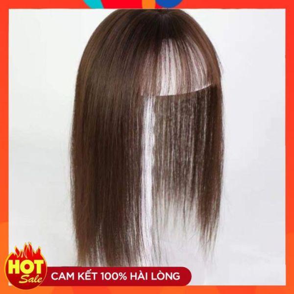 [Hàng Có Sẵn] Tóc Giả Che Hói - Tóc Giả Cao Cấp Che Hói Nữ Có Da Đầu - Tóc Thật 100% - Sợi Thật Siêu Da Đầu giá rẻ