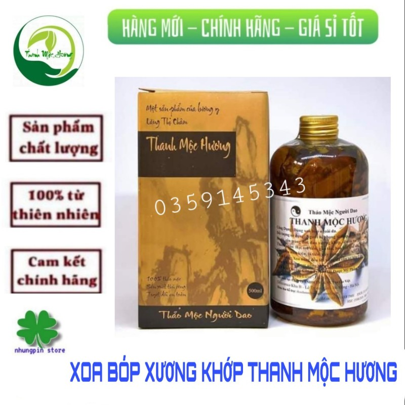 Xoa bóp Thanh Mộc Hương cao cấp