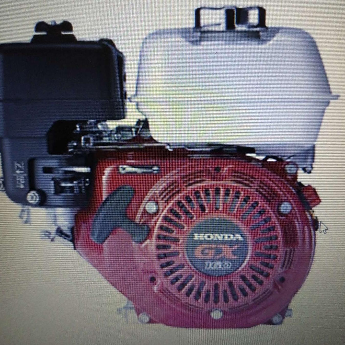 Động cơ xăng - Đầu nổ - Honda GX160