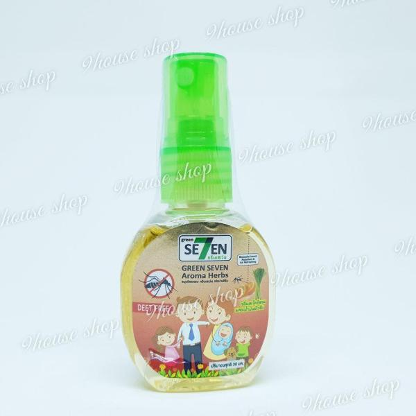 01 Xịt Chống Muỗi & Côn Trùng GREEN SE7EN 30ml Thái Lan