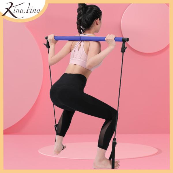 Dụng cụ tập Gym pilates có dây kháng lực, dụng cụ thể thao tập toàn thân đa năng cao cấp - Kinakino