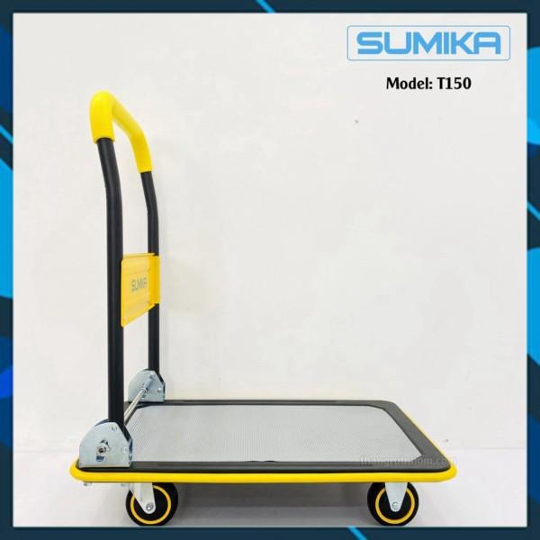 Xe đẩy hàng hóa SUMIKA T150 (tải trọng 150kg, tay cầm gấp gọn)