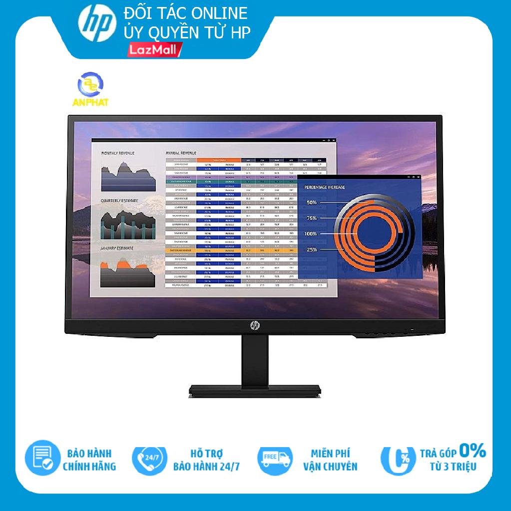 TRẢ GÓP 0% Màn hình máy tính HP P27h G4 7VH95AA 27 inch FHD IPS Hàng chính hãng