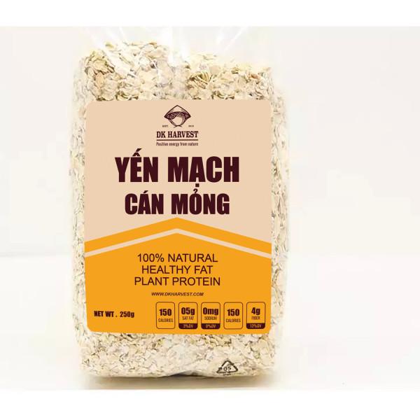 Yến Mạch DK Harvest nhập khẩu Úc - túi 250g yến mạch nguyên hạt cán dẹp ngũ cốc giảm cân yến mạch úc tươi yến mạch ăn liền yến mạch giảm cân yến mạch mix hoa quả hạt nấu sữa - Giới hạn 5 sản phẩm/khách hàng