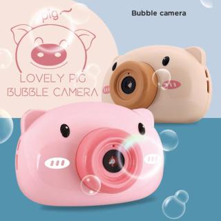 Đồ chơi máy ảnh bắn ra bong bóng xà phòng hình lợn - Đồ chơi vui nhộn thổi bong bóng, tăng cường vận động cho bé (Giao màu ngẫu nhiên) thumbnail
