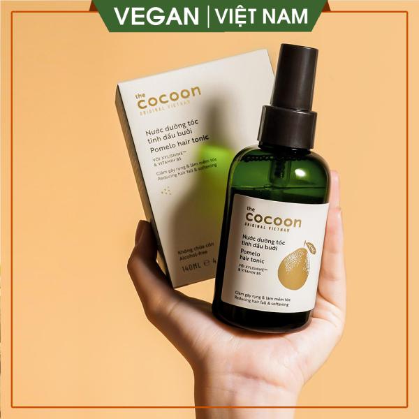 [GIẢM RỤNG TÓC, GIÚP MỌC TÓC ] Nước dưỡng tóc tinh dầu bưởi (pomelo hair tonic) Cocoon 140ml giá rẻ