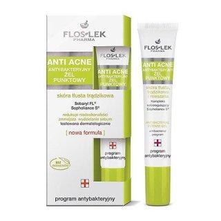 Floslek Gel Đặc Trị Mụn Diệt Khuẩn Anti Acne Antibacterial Intense 20ml thumbnail