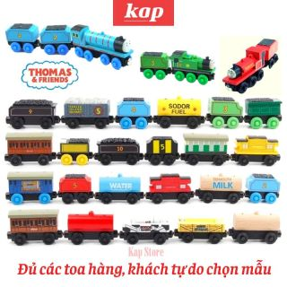 Wooden Thomas & Friend Trailers Collection, Playable on Wooden railway system thumbnail