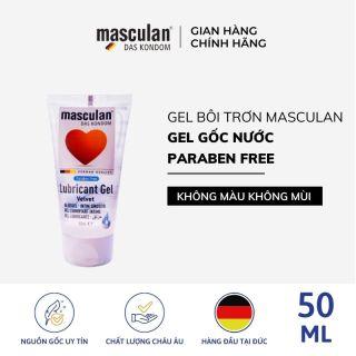 Gel bôi trơn cao cấp Masculan Velvet - Tạo độ mượt tự nhiên - Gốc nước - Không chất bảo quản - An toàn - 50ml - hàng trải nghiệm thumbnail