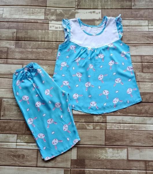 Giá bán [COMBO 04 BỘ TOLE SIZE 35-39KG] Đồ bộ tôn ngắn tay, quần lửng cho bé gái mát, mịn, hàng Việt Nam chất lượng