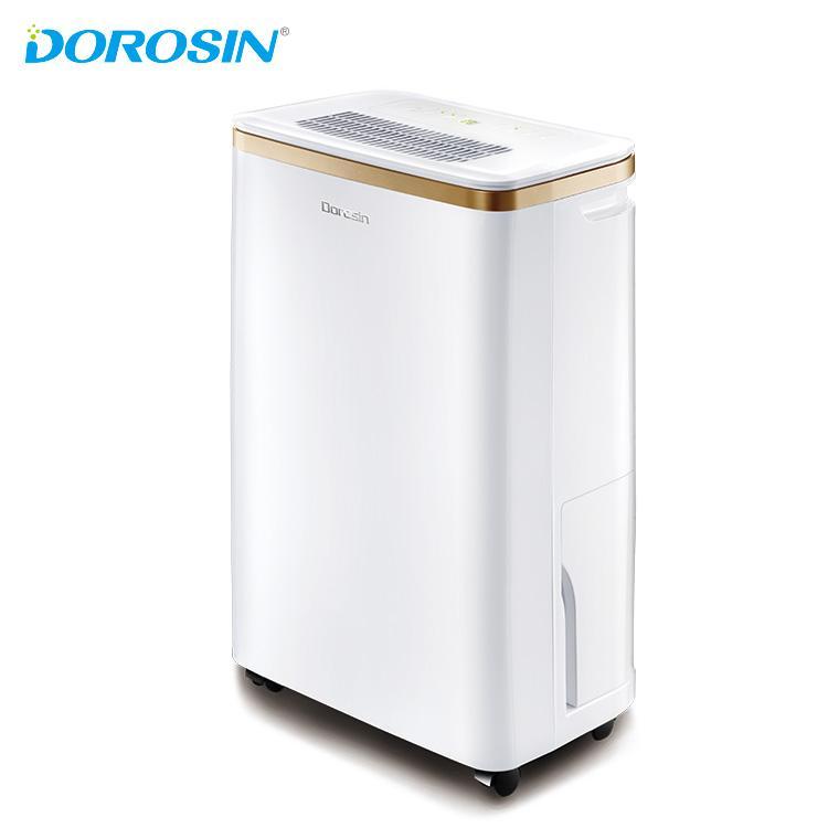 Máy hút ẩm lọc không khí Dorosin công suất lớn 12L/ngày-Hẹn độ ẩm-sấy khô quần áo- Bảo hành 1 năm