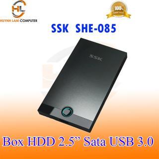 Box HDD 2.5inch SSK SHE085 Sata USB 3.0 5Gbps hỗ trợ ổ cứng lên đến 2TB thumbnail