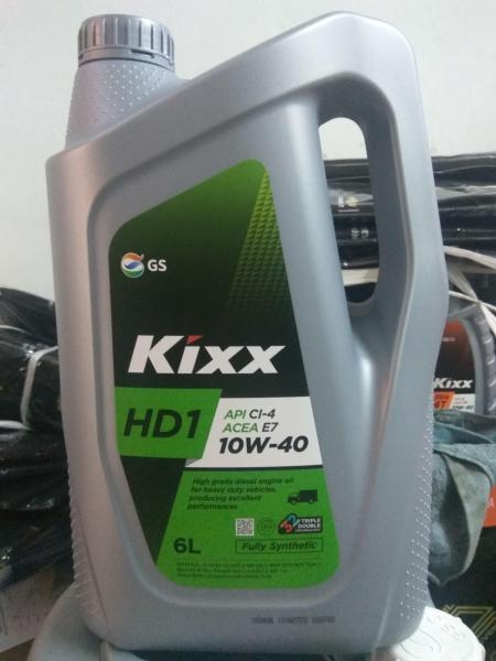 KIXX HD1 CI-4 - 6L